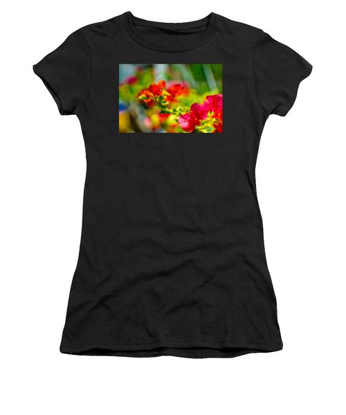 Beauty In A Blur Women's T-Shirt (Athletic Fit)