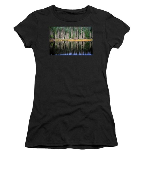 Beauty In Idaho Bog Women's T-Shirt (Athletic Fit)
