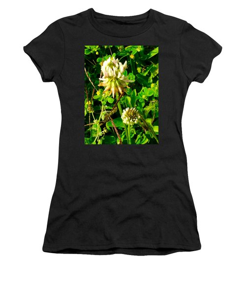 Beauty In Weeds Women's T-Shirt (Athletic Fit)