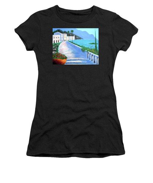 Beauty Of The Riviera Women's T-Shirt