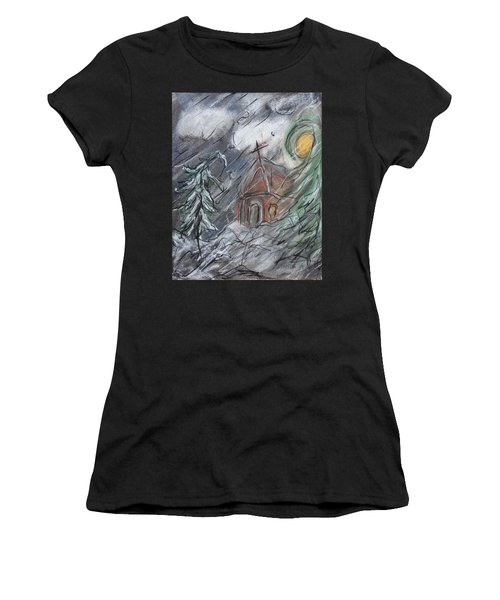 Beauty Of Winter Women's T-Shirt (Athletic Fit)