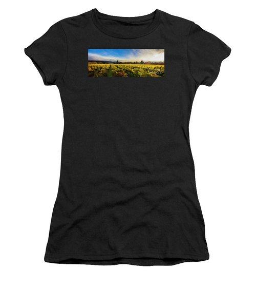 Beauty Over The Vineyard Panoramic Women's T-Shirt