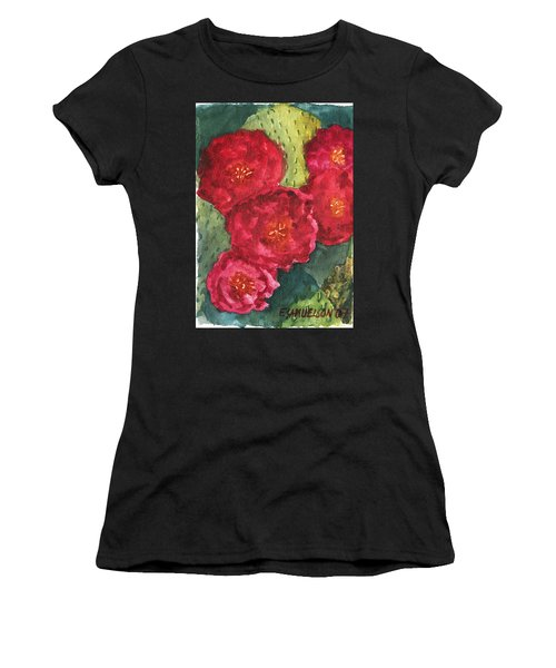 Beavertail Cactus Women's T-Shirt (Athletic Fit)