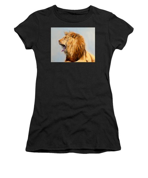 Bed Head - Lion Women's T-Shirt (Athletic Fit)