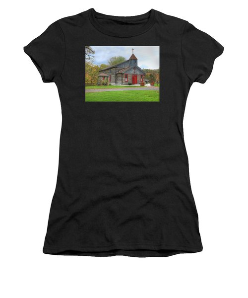 Bedford Village Church Women's T-Shirt (Athletic Fit)