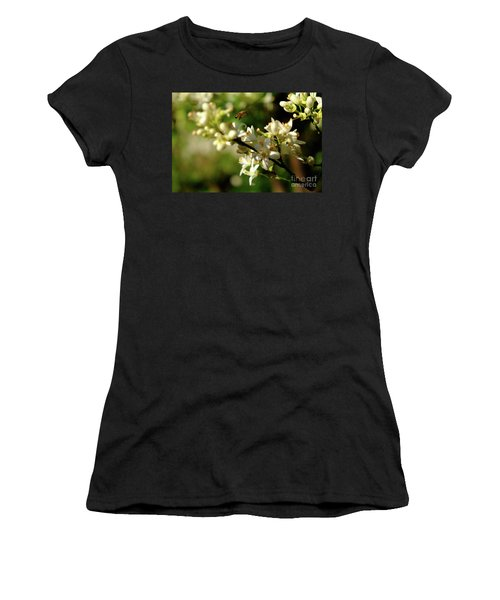 Bee Amongst The Flowers Women's T-Shirt