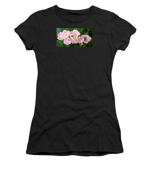 Bee And Roses Women's T-Shirt
