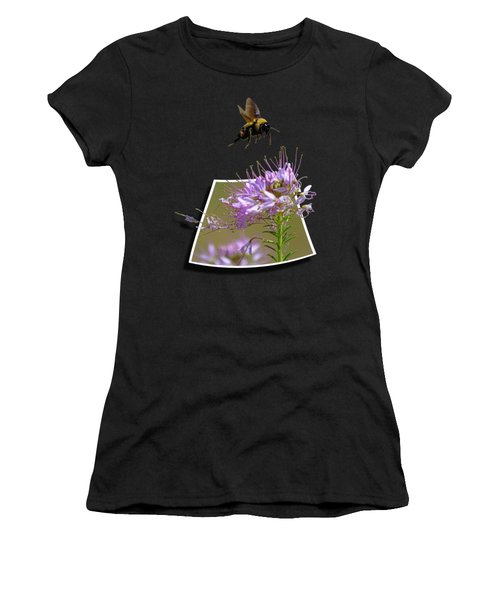Bee Free Women's T-Shirt (Athletic Fit)