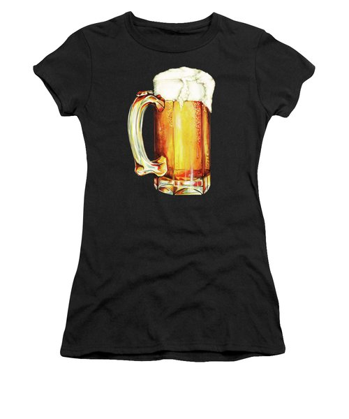 Beer Pattern Women's T-Shirt