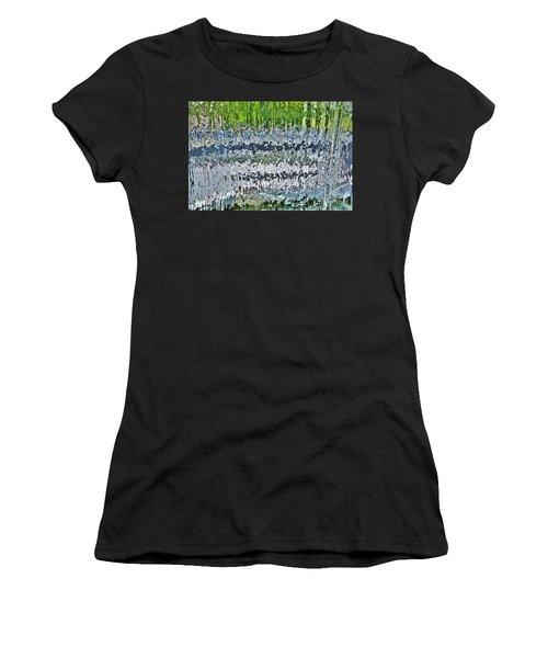 Behind The Waterfall Women's T-Shirt