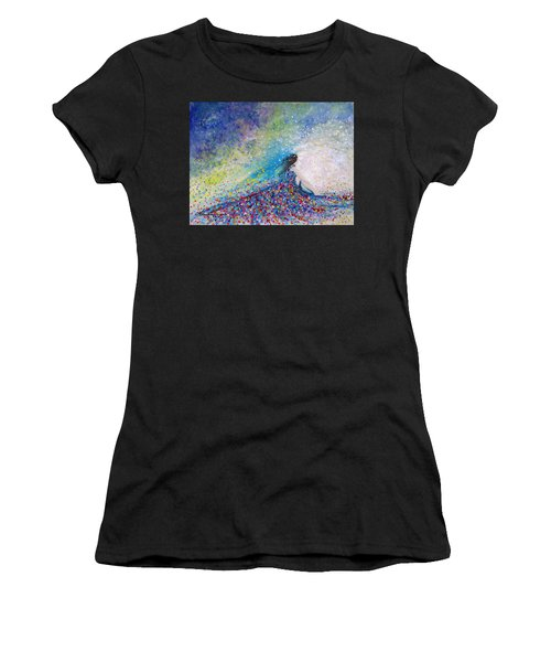 Being A Woman - #5 In A Daydream Women's T-Shirt (Athletic Fit)