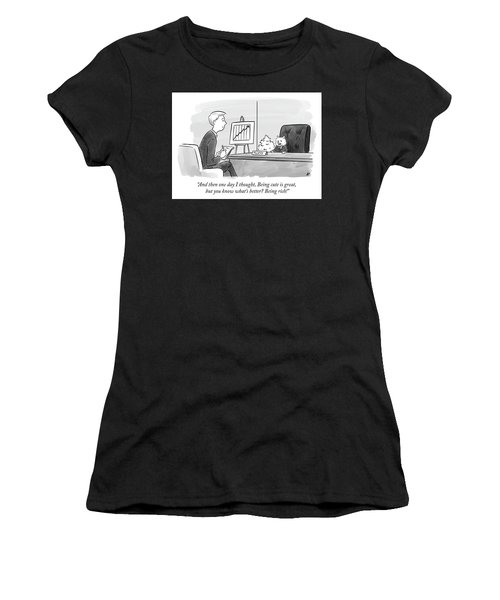 Being Cute Is Great But Women's T-Shirt