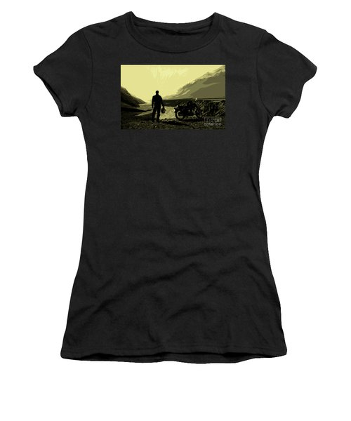 Being In The Movie II Women's T-Shirt (Athletic Fit)