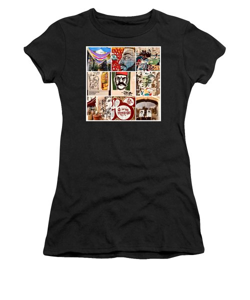 Beirut Funky Shots Women's T-Shirt (Athletic Fit)