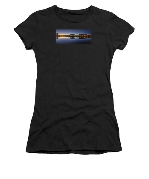 Belfast Near The Docks Women's T-Shirt (Athletic Fit)