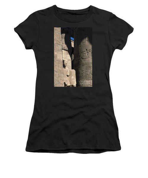 Belief In The Hereafter - Luxor Karnak Temple Women's T-Shirt