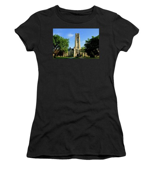 Bell Tower At The University Of Toledo Women's T-Shirt