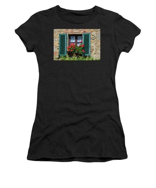 Bella Italian Window  Women's T-Shirt