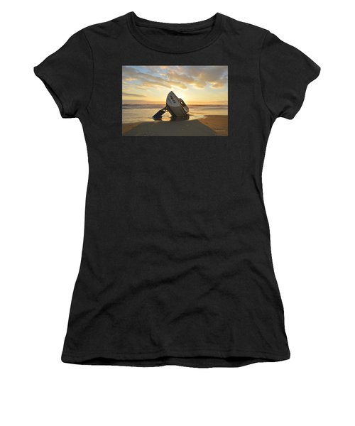 Women's T-Shirt featuring the photograph Belle At Sunrise by Barbara Ann Bell