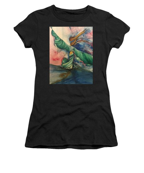 Belly Dancer With Wings  Women's T-Shirt