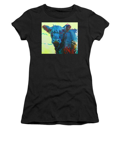 Belted Galloway Cow On Dartmoor Women's T-Shirt