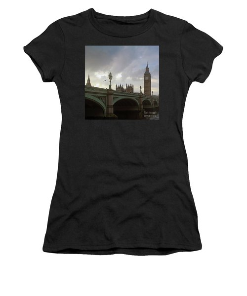 Ben And The Bridge Women's T-Shirt (Athletic Fit)