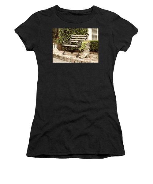 Bench And Boot 2 Women's T-Shirt