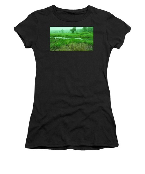 Beneath The Clouds Women's T-Shirt (Athletic Fit)