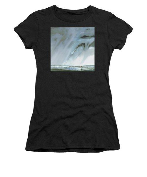 Beneath Turbulent Skies Women's T-Shirt