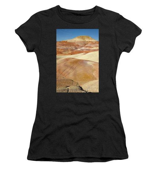 Bentonite Hills  Capitol Reef N P Women's T-Shirt