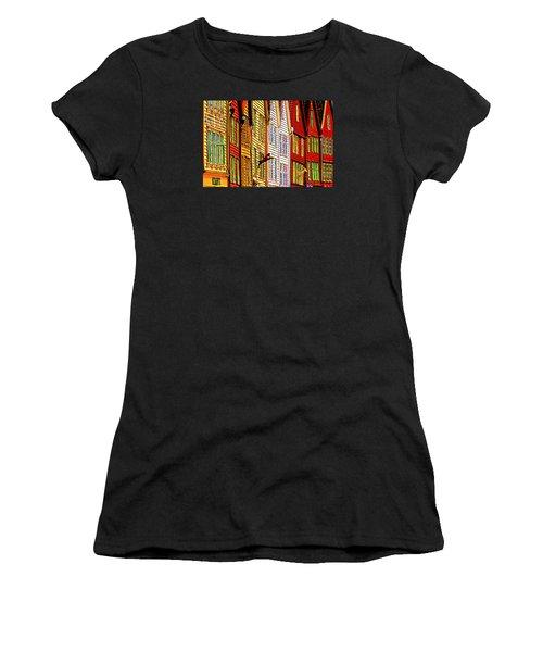 Bergen Warehouses Women's T-Shirt (Athletic Fit)