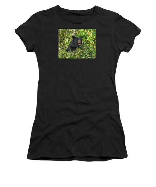 Women's T-Shirt (Junior Cut) featuring the photograph Berry Good by Yeates Photography