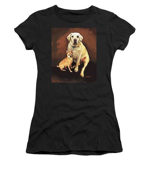 Best Friends By Spano Women's T-Shirt (Athletic Fit)