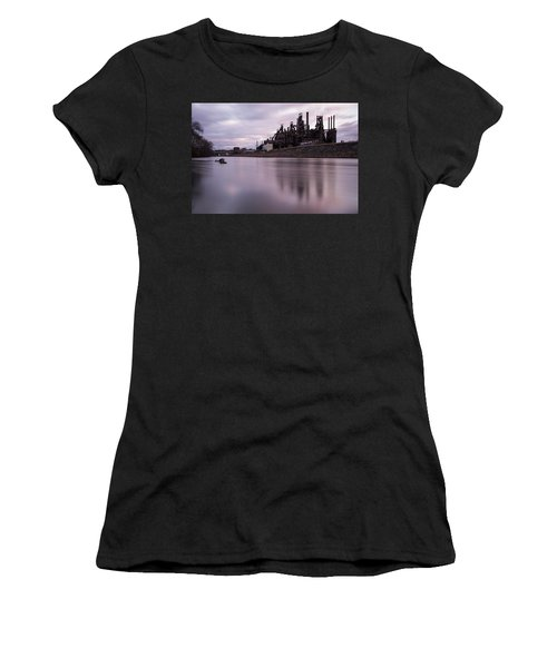 Bethlehem Steel Sunset Women's T-Shirt (Athletic Fit)