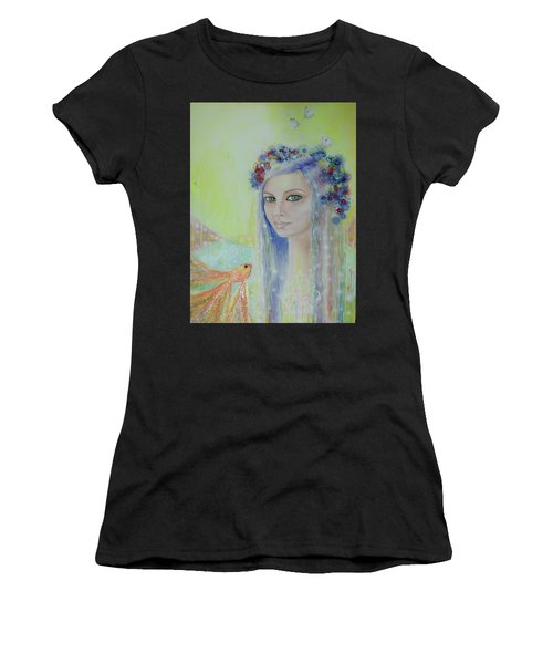 Between Heaven And Earth  Women's T-Shirt (Athletic Fit)
