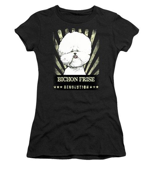 Bichon Frise Revolution Women's T-Shirt