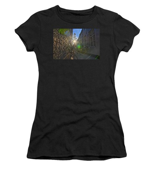 Bicycle Alley Women's T-Shirt (Athletic Fit)