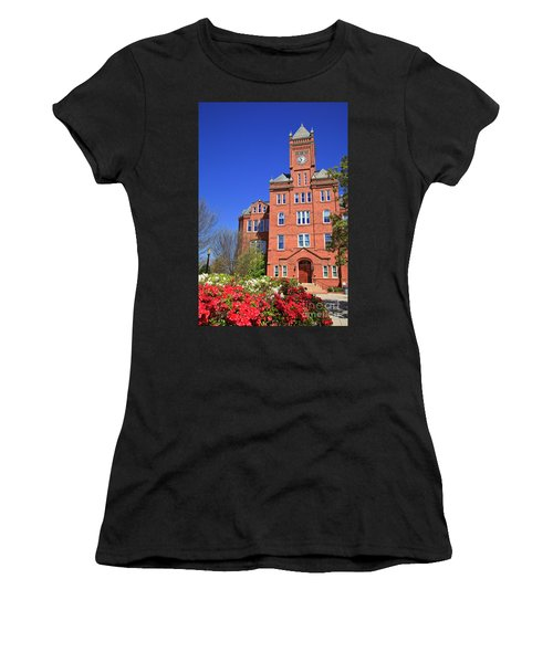 Biddle Hall In The Spring Women's T-Shirt