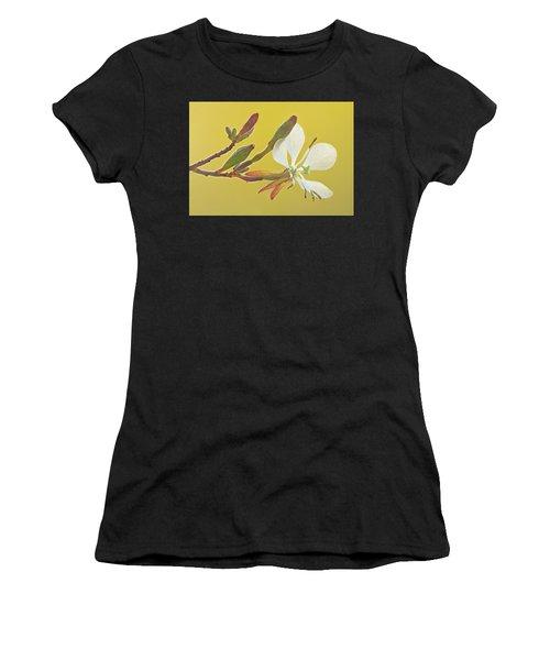 Biennial Gaura Women's T-Shirt (Athletic Fit)