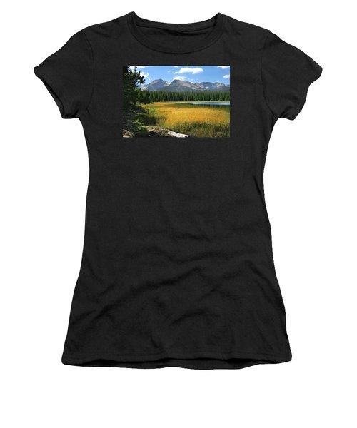 Autumn At Bierstadt Lake Women's T-Shirt