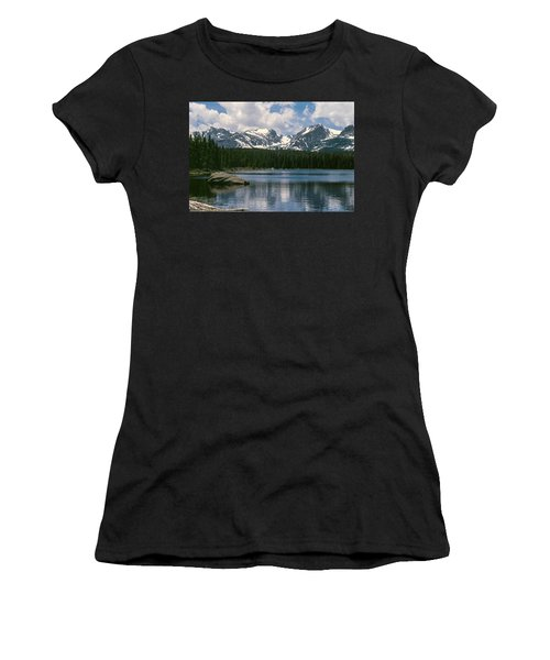 Bierstadt Lake Hallett And Otis Peaks Rocky  Mountain National Park Women's T-Shirt