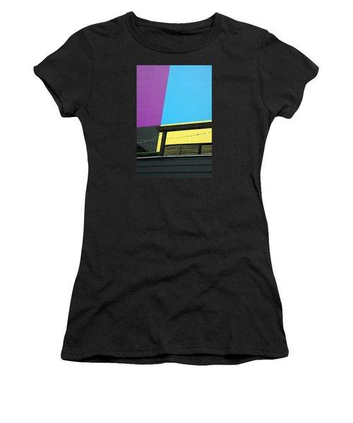 Big Backdrop Women's T-Shirt (Athletic Fit)
