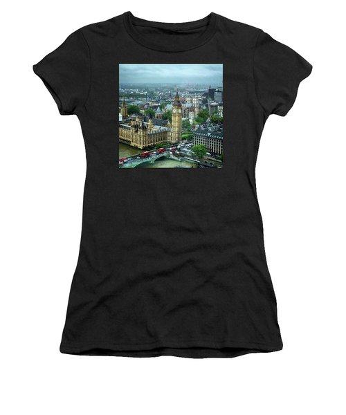 Big Ben From The London Eye Women's T-Shirt