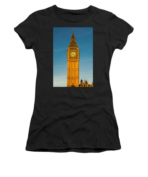 Big Ben Tower Golden Hour London Women's T-Shirt