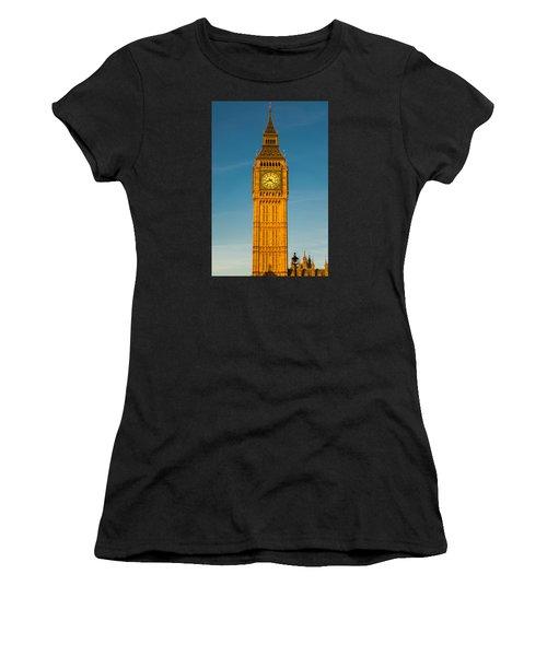 Big Ben Tower Golden Hour London Women's T-Shirt