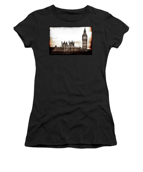 Big Bend And The Palace Of Westminster Women's T-Shirt