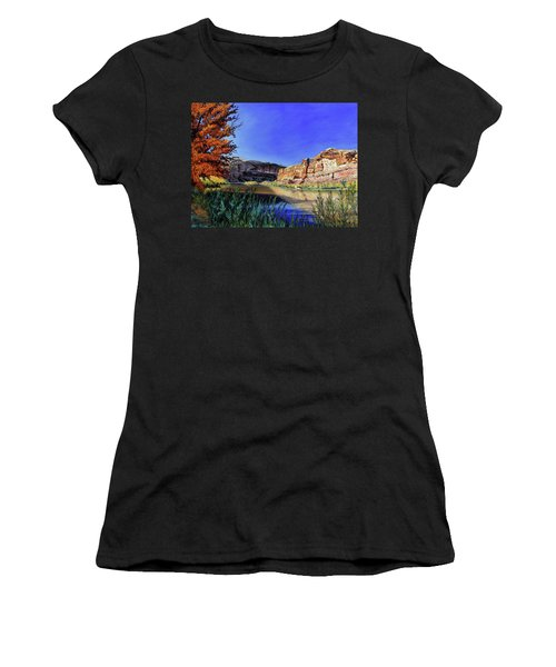 Big Bend On The Colorado Women's T-Shirt (Athletic Fit)