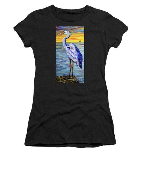 Big Blue Women's T-Shirt (Athletic Fit)
