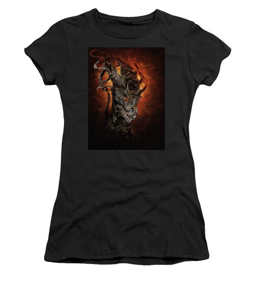 Big Dragon Women's T-Shirt (Athletic Fit)