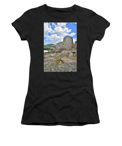 Big Horn Pass Rock Croppings Women's T-Shirt